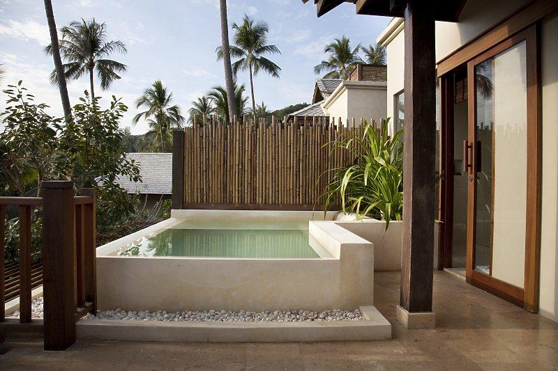 Anantara rasananda koh phangan villas koh samui jetzt Fotos piscinas para espacios pequenos