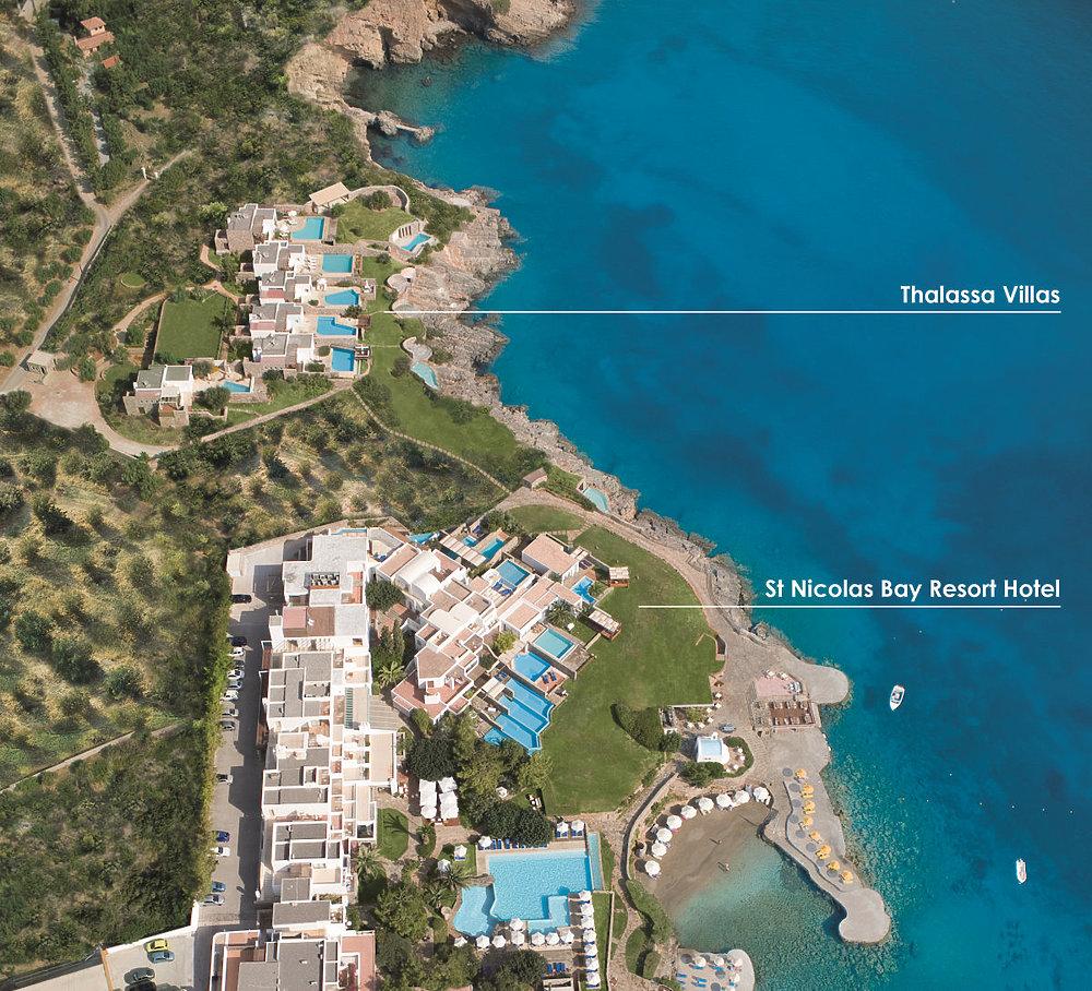 St Nicolas Bay Thalassa Villas Dream Suites Kreta Jetzt