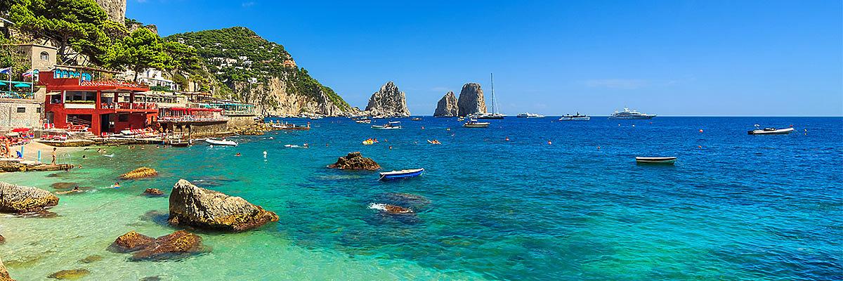 Capri Reisen und Capri Sonderangebote