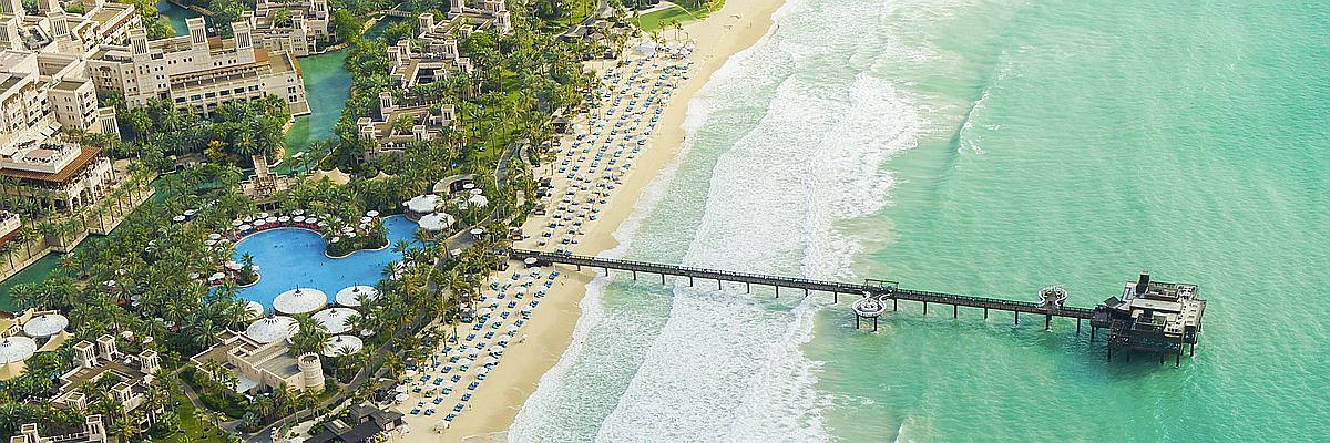 Dubai Strand Reisen und Dubai Strand Sonderangebote