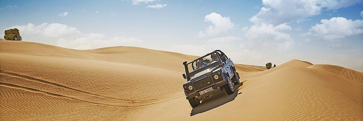 Dubai Wüste Reisen und Dubai Wüste Sonderangebote