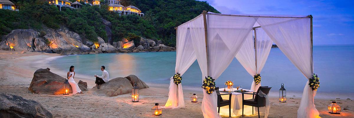 Flitterwochen & Hochzeitsreisen