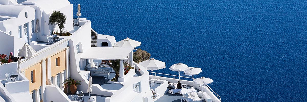 Griechenland Hotels günstig buchen