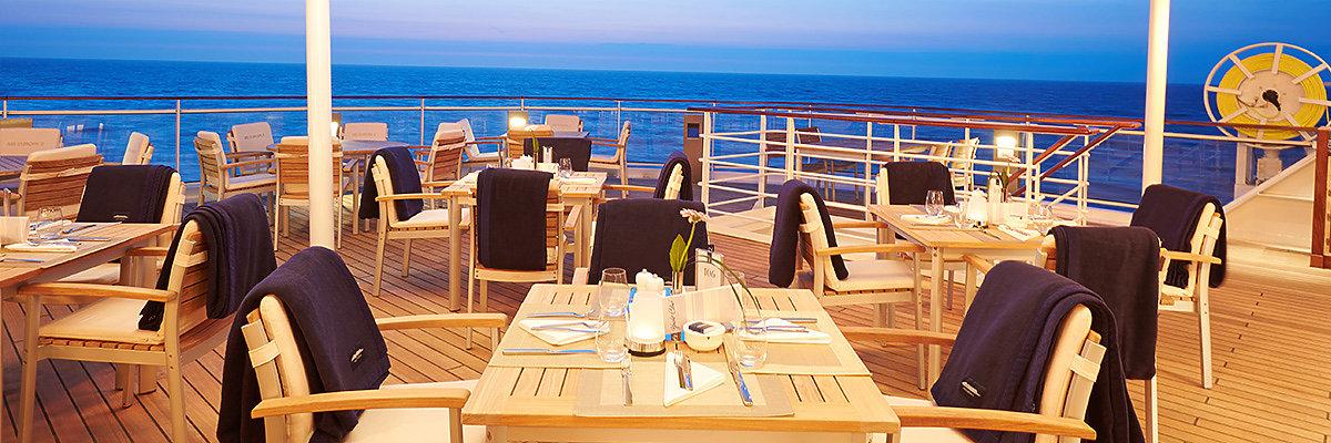 Hapag-Lloyd Cruises Hotels günstig buchen