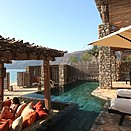 2 Bedroom Beachfront Zighy Pool Villa Suite - Six Senses Zighy Bay