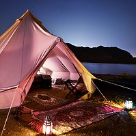 Deluxe Tent - Canvas Club Tents