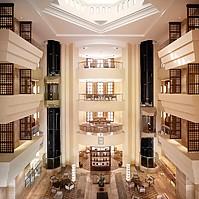 Atrium - Crowne Plaza Sohar