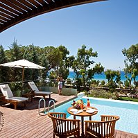 Executive Suite Sea View Privat Pool - Amathus Elite Suites
