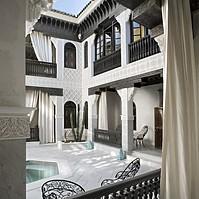 La Sultana Marrakesch - Innenhof