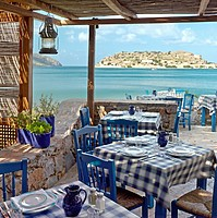 Blue Door Taverna - Blue Palace, A Luxury Collection Resort & Spa