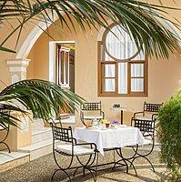 Innenhof - Casa Delfino Hotel & Spa