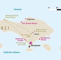 Bali in Style - Karte