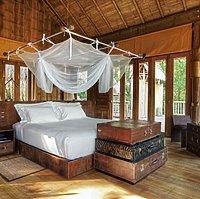 Soneva Kiri - Bayview Pool Villa Suite Schlafzimmer