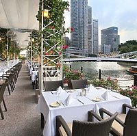 The Fullerton Hotel - Restaurant Al Fresco