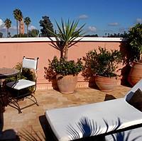 Deluxe Room mit Terrasse - Villa des Orangers