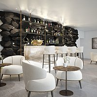 Champagne Lounge - Grace Santorini, Auberge Resorts Collection