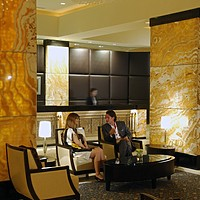 Lobby des InterContinental Abu Dhabi