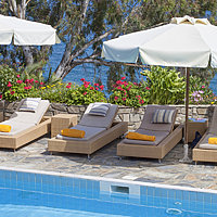 Pool - Aegean Suites