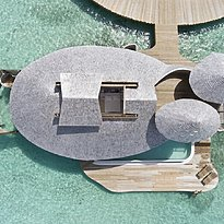 1 BR Water Retreat Vogelperspektive - Soneva Jani
