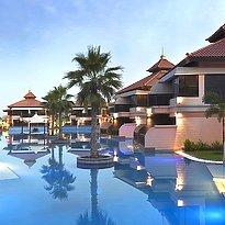 Lagunenpool des Anantara Dubai The Palm Resort & Spa