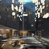 Atrium Lobby - W Dubai The Palm