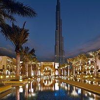 Auffahrt zum The Palace Downtown Dubai