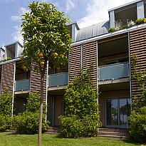 Außenansicht Zimmer - Hotel Corte Valier