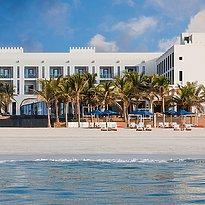 Außenansicht des Al Baleed Resort Salalah by Anantara