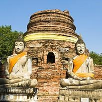 Ayutthaya - Authentisches Thailand