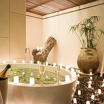Badezimmer Garden und Pool Residence