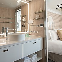Deluxe/Prestige Suite Badezimmer - Le Dumont-d´Urville