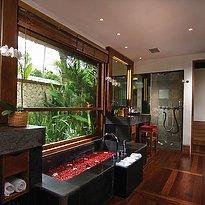 Belmond Jimbaran - Deluxe Pool Villa Badezimmer
