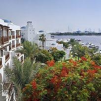 Blick auf den Dubai Creek - Park Hyatt Dubai