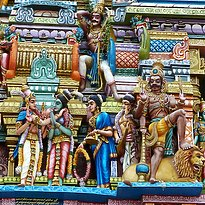 Hindutempel Colombo