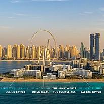Übersicht Caesars Palace Dubai