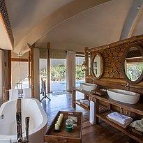 Chena Huts Badezimmer