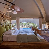 Huts Schlafzimmer
