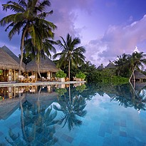 Compass Pool Bar - Milaidhoo Island Maldives