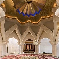 Eingang zur Lobby - Shangri-La Al Husn Resort & Spa