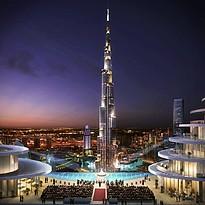 Events auf dem Sky Deck - The Address Sky View