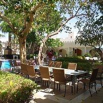 Garten und Pool - Falaj Daris Nizwa