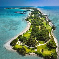 Golfplatz - Shangri-La`s Villingili Resort and Spa