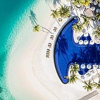 Hauptpool - Conrad Maldives Rangali Island