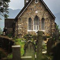 Warleigh Kirche im Hochland