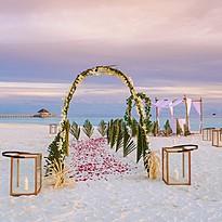 Hochzeitsarrangement - Baglioni Resort Maldives