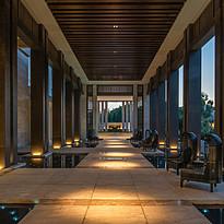Hoteleingang - Amara
