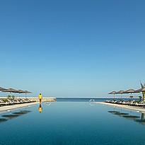 Infinity Pool - Kempinski Hotel Muscat