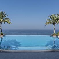 Infinity Pool - Shangri-La Al Husn Resort & Spa