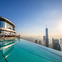Infinity Pool Sky Deck - The Address Sky View