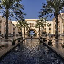 Innenhof - Shangri-La Al Husn Resort & Spa